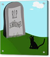 Schoedingers Cat 1 - Schroedinger 0 Acrylic Print