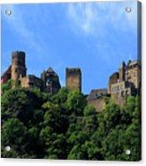 Schoenburg Castle Oberwesel Germany Acrylic Print