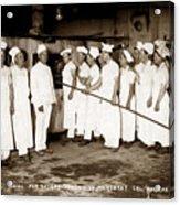School For Bakers Presidio Of Monterey October 1915 Acrylic Print