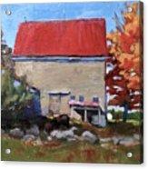 Schoolhouse Farm, Warren, Maine Acrylic Print