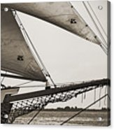 Schooner Pride Tall Ship Charleston Sc Acrylic Print by Dustin K Ryan