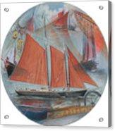 Schooner Roseway Acrylic Print