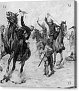 Schreyvogel: Attack, 1905 Acrylic Print