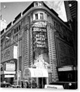 schubert theatre featuring hello dolly New York City USA Acrylic Print