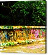 Schuylkill Graffiti Acrylic Print