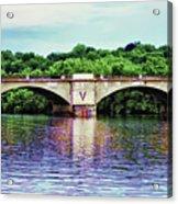 Schuylkill River Acrylic Print