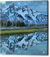 Schwabacher Landing Dark Morning Acrylic Print