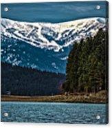 Schweitzer Mountain Resort Acrylic Print