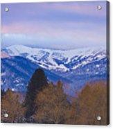 Schweitzer Ski Area Acrylic Print