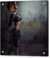 sci-fi Beauty 1 Acrylic Print