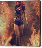 Sci-fi Beauty 4 Acrylic Print