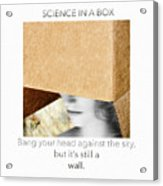 Science In A Box  Acrylic Print