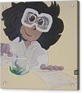 Science Lab Acrylic Print