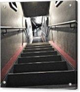 Scifi Hallway Acrylic Print