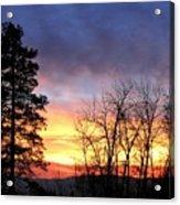 Scintillating Sunset Acrylic Print