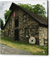 Sciota Mill Pennsylvania Acrylic Print