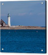 Scituate Lighthouse From Across The Harbor Acrylic Print