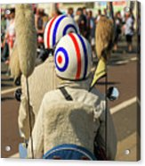 Scooter Mods And Helmets Acrylic Print