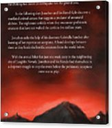 Scorpions Back Cover Acrylic Print