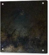 Scorpius And The Milky Way Acrylic Print