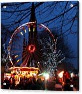 Scot Monument Christmas And Hogmanay Fair Scotland Acrylic Print
