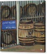 Scotch Whiskey - Barrels - Macallan Acrylic Print