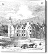 Scotland: Balmoral Castle Acrylic Print