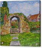 Scotney Castle Lamberhurst Kent Acrylic Print