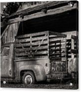 Scotopic Vision 5 - The Barn Acrylic Print