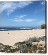 Scott Creek Beach Hwy 1 Acrylic Print