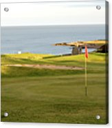 Scottish Golf Acrylic Print