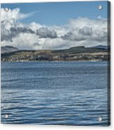 Scottish Panorama Over The River Clyde Acrylic Print