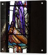 Scottish Stained Glass Window #2 Acrylic Print