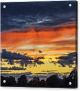 Scottish Sunset Acrylic Print
