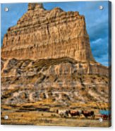 Scotts Bluff National Monument Acrylic Print