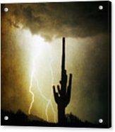 Scottsdale Arizona Fine Art Lightning Photography Poster Acrylic Print