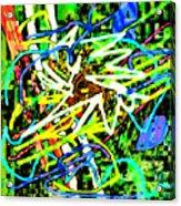 Scramble #e Acrylic Print
