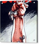 Scrap - Ww2 Propaganda Acrylic Print
