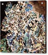 Scrap Yard Mosaic Acrylic Print