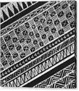 Scratch Kapa 3 Acrylic Print