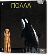 Scream With Orca Greek Acrylic Print