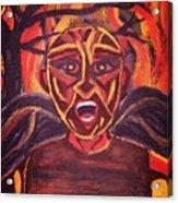 Screaming Demon Acrylic Print