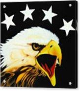 Screaming Eagle Acrylic Print