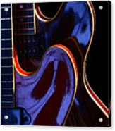 Screaming Guitars Acrylic Print