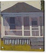 Screened Porch - Art By Bill Tomsa Acrylic Print