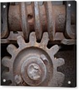 Screw And Gear  Acrylic Print