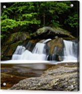 Screw Auger Falls Upper 2 Acrylic Print