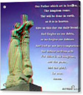 Scripture - Use Red-cyan 3d Glasses Acrylic Print