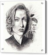 Scully Acrylic Print