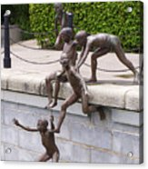 Sculpture By The Bay Acrylic Print